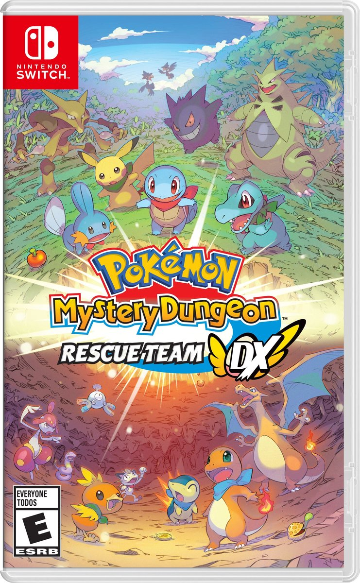 Switch Game - Pokémon 不可思議迷宮 救助隊DX 遊戲軟件