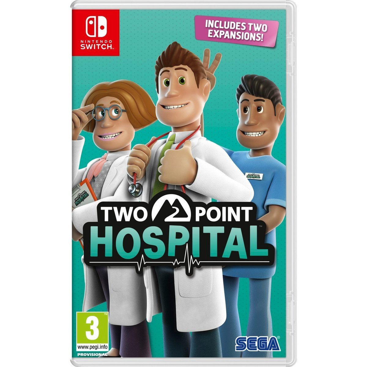 Switch Game - Two Point Hospital Game Software