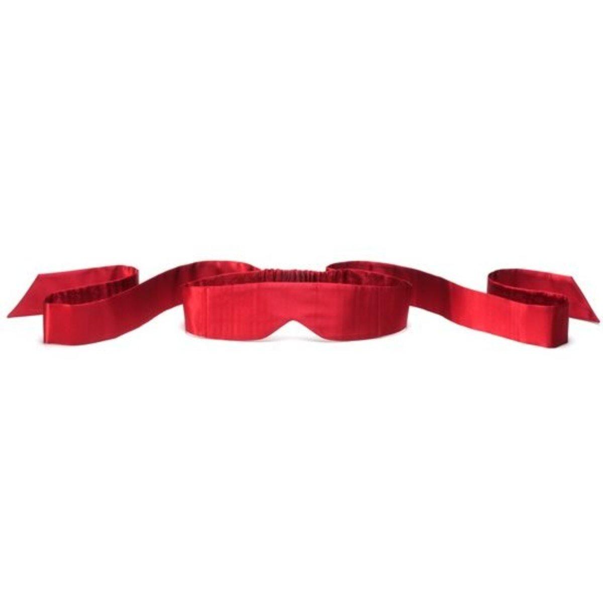 全絲眼罩 Intima Silk Blindfold- 紅色