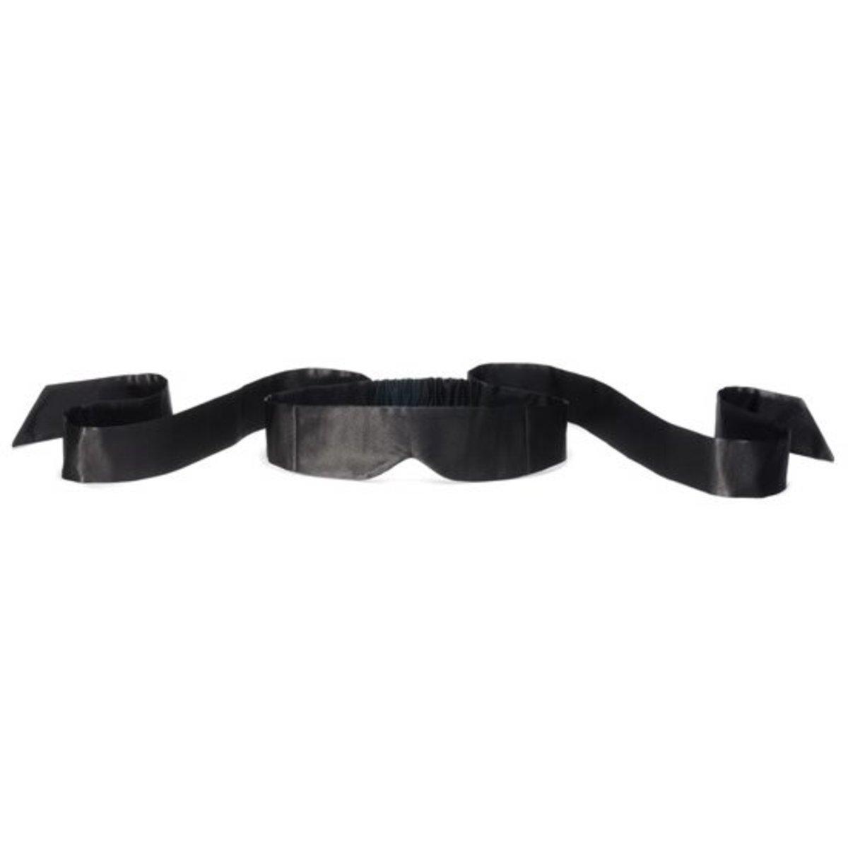 全絲眼罩 Intima Silk Blindfold - 黑色