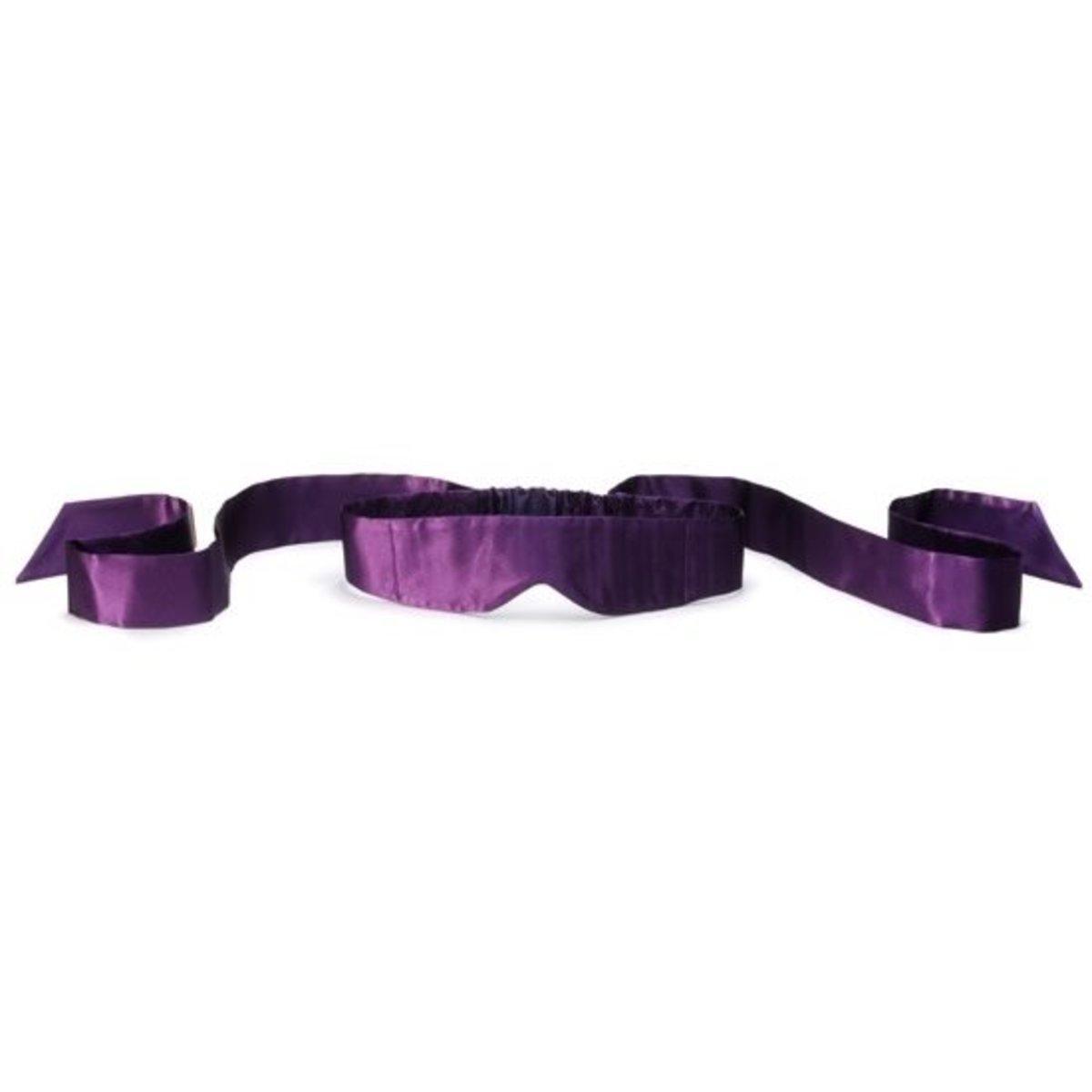 全絲眼罩 Intima Silk Blindfold - 紫色