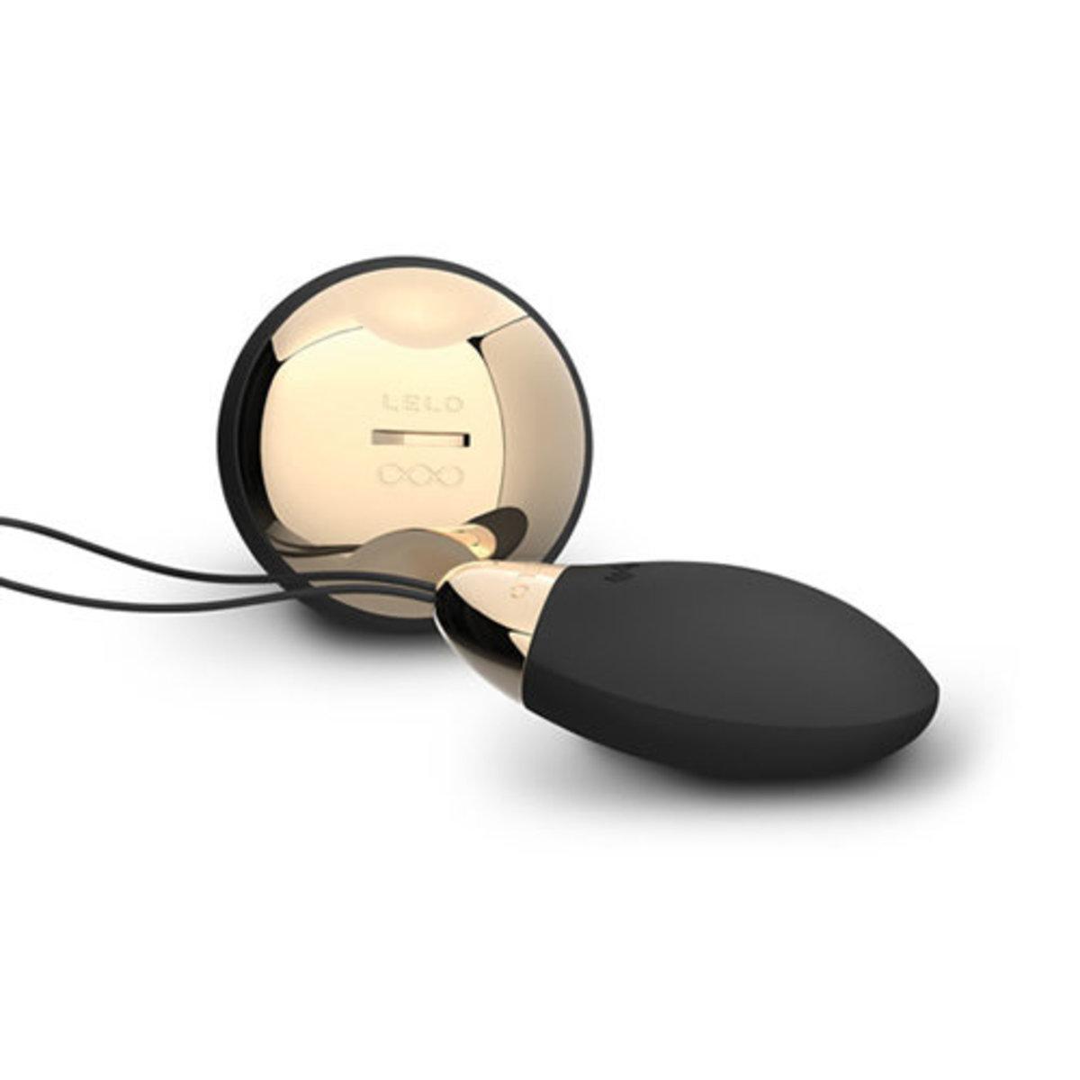 Lyla 2 Remote Controlled Love Egg - Black