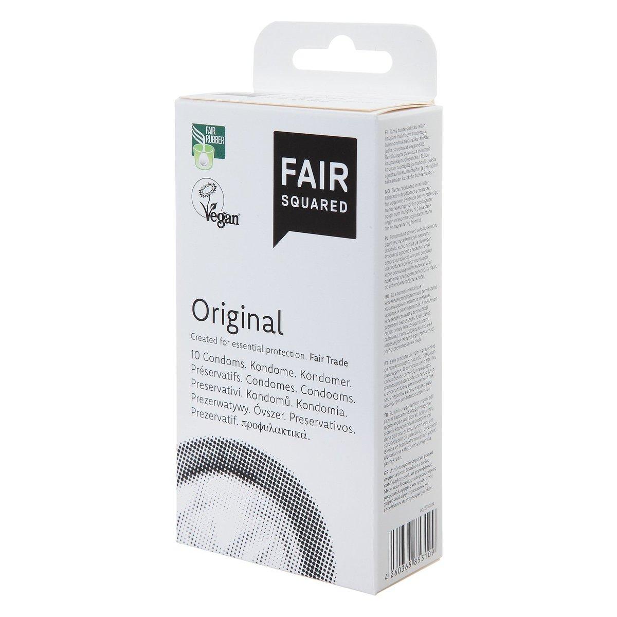 公平貿易純素標準裝安全套 標準裝安全套 10片裝