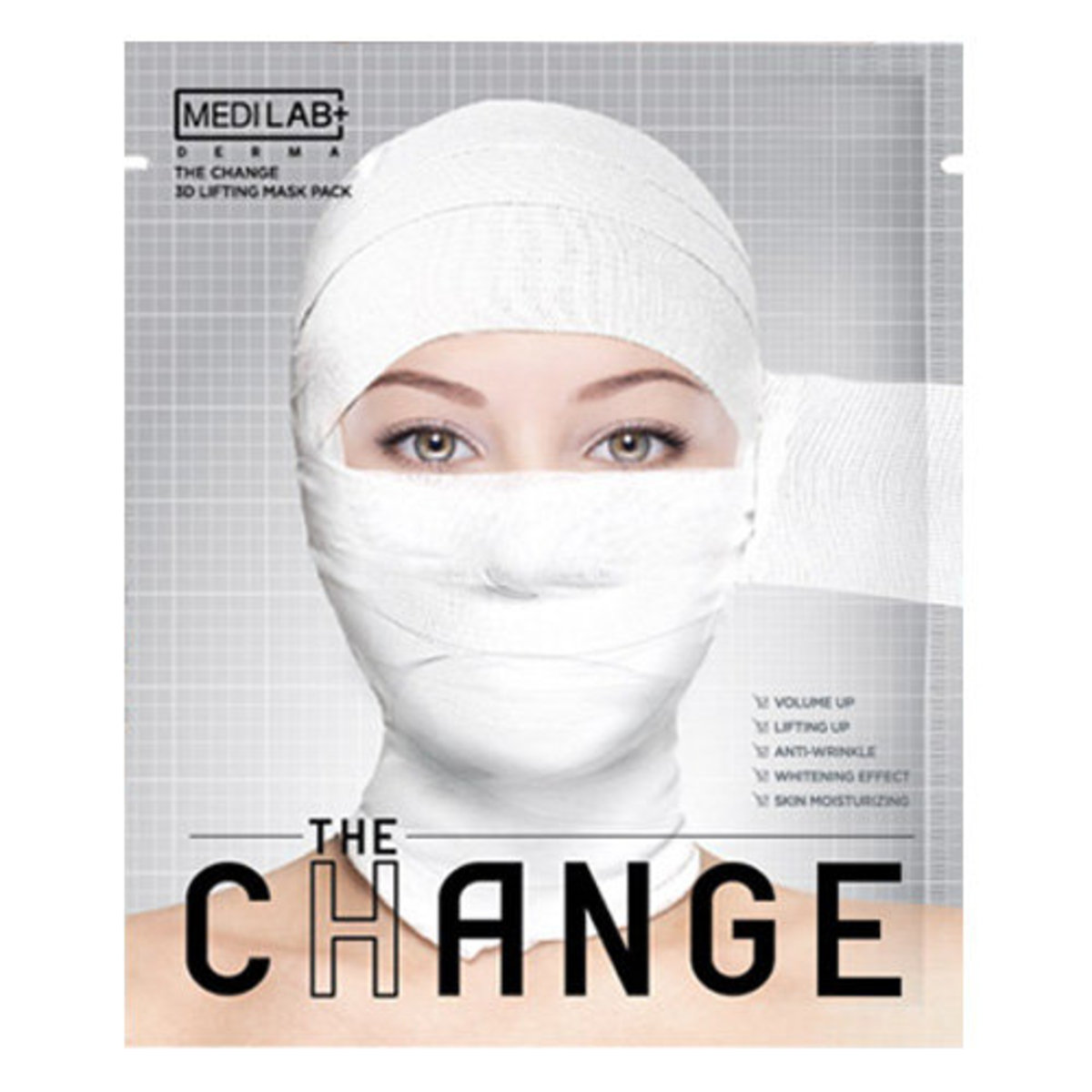 The Change 3D Lifting Mask Pack 7 Sheets
