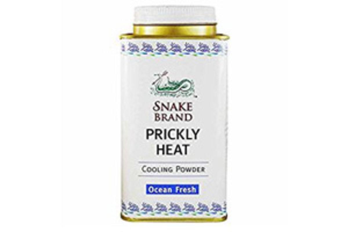 Prickly heat cooling powder ocean fresh140g