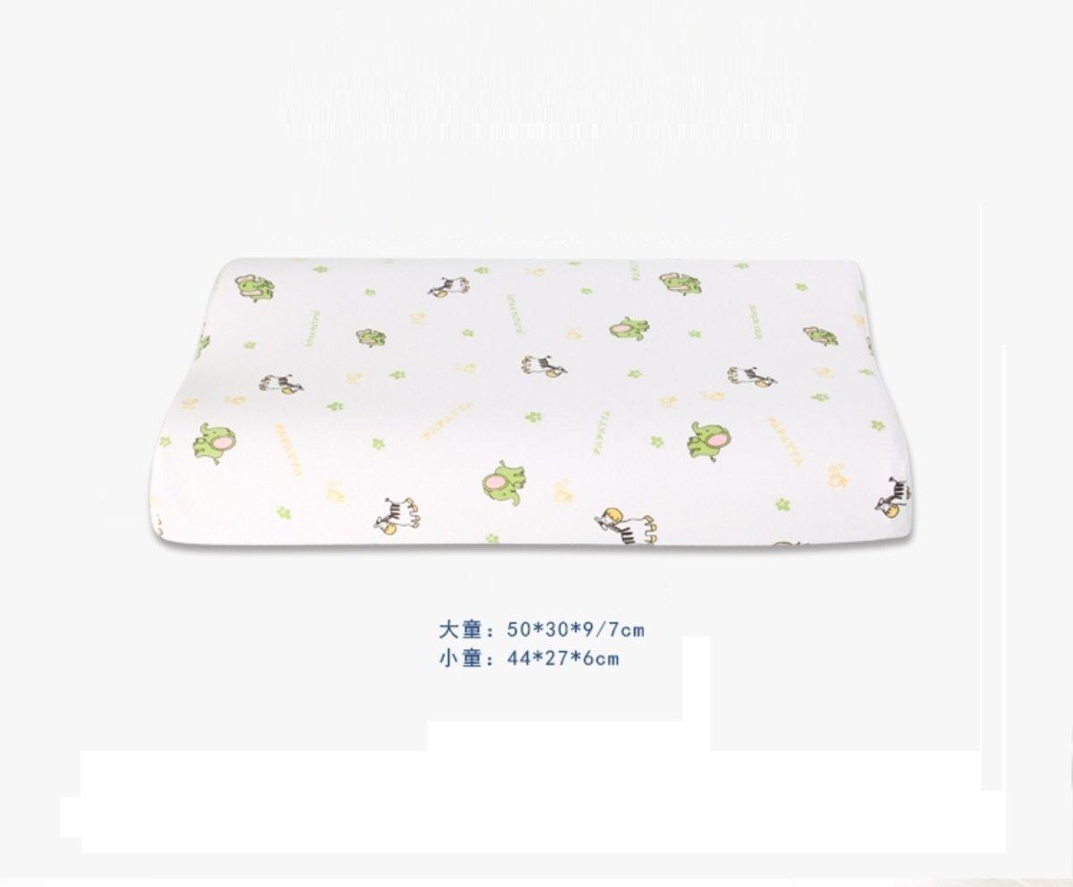Neck Massage Natural Latex Pillow - Child Pillow (Large Size/P4)