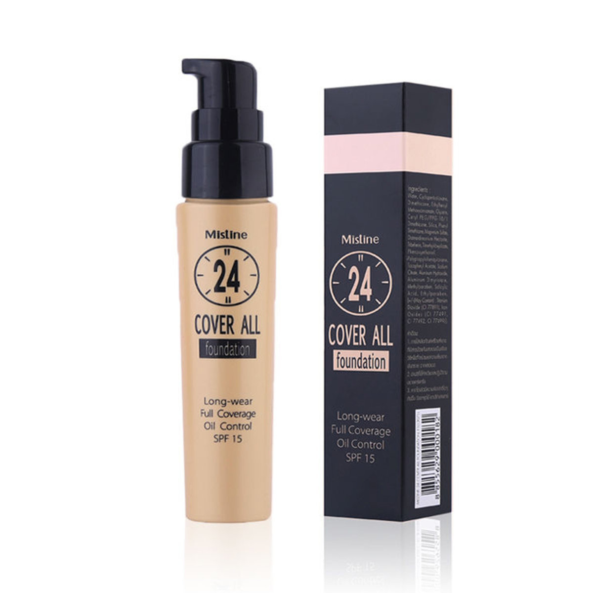 24 cover all foundation F2 natural