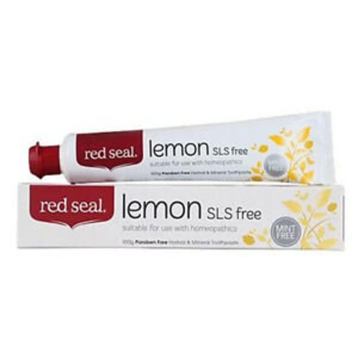紅印天然檸檬牙膏 - 110g