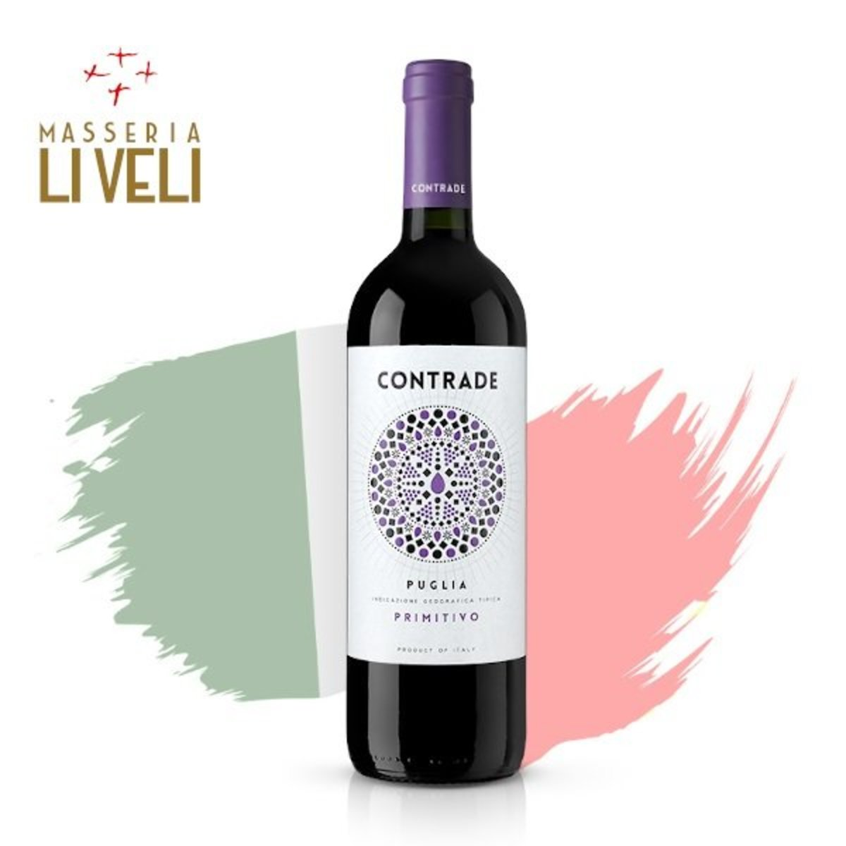 Contrade Primitivo IGT 2016 紅酒
