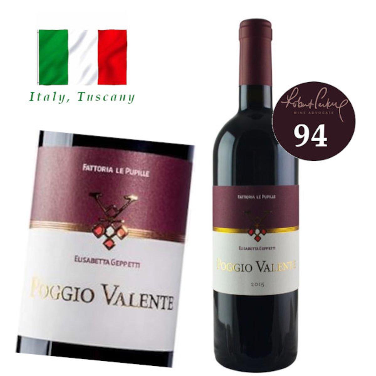 Poggio Valente Toscana Rosso IGT 2015 紅酒
