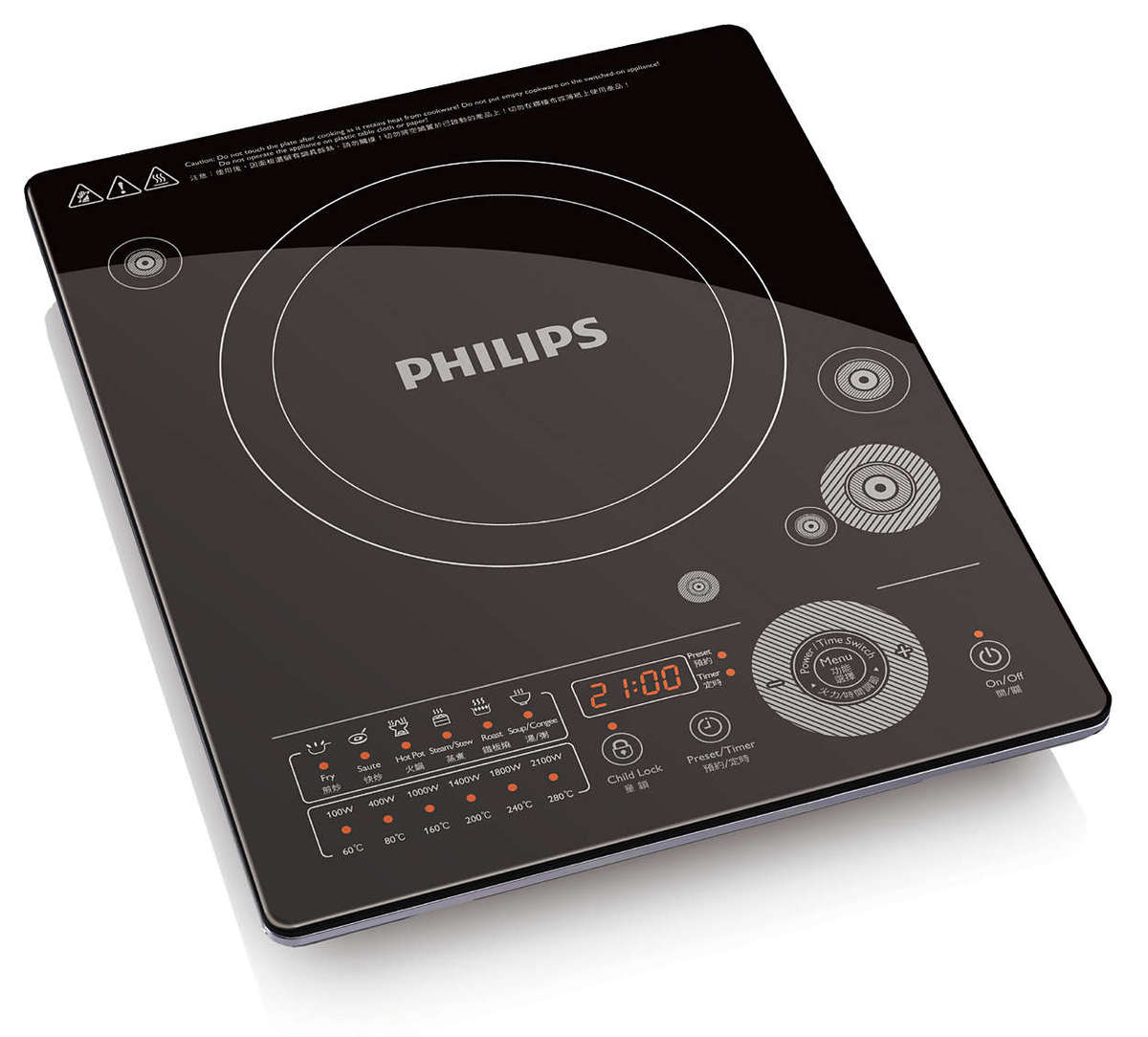 Sensor Touch 2100W Induction cooker - HD4991