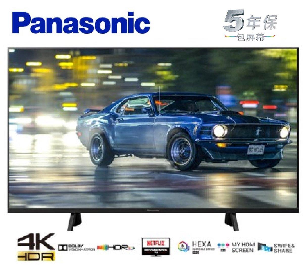 TH-40GX700H 40吋 4K LED智能電視