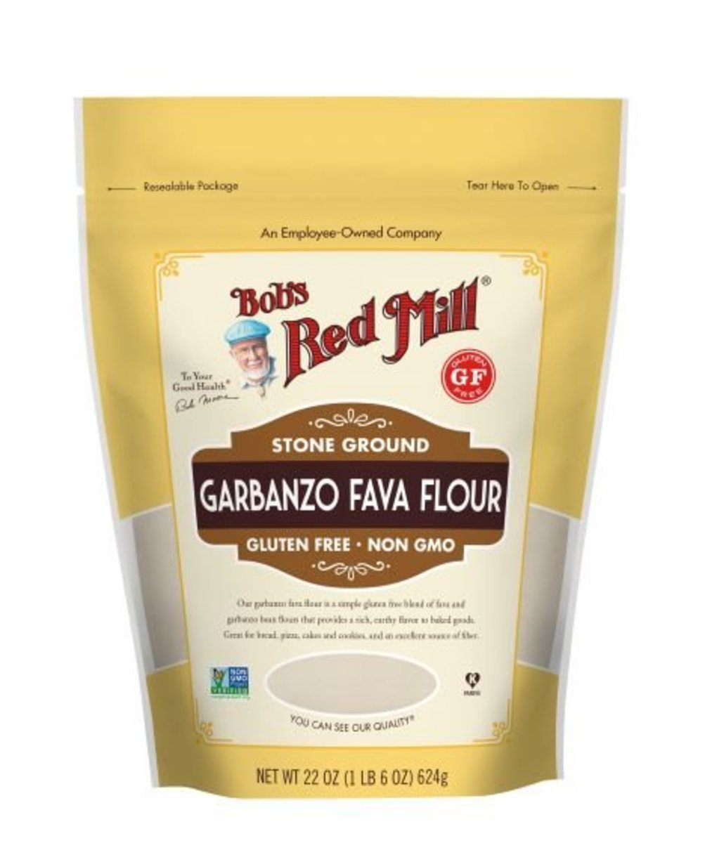 Gluten Free Garbanzo Fava Flour [Keto Diet]