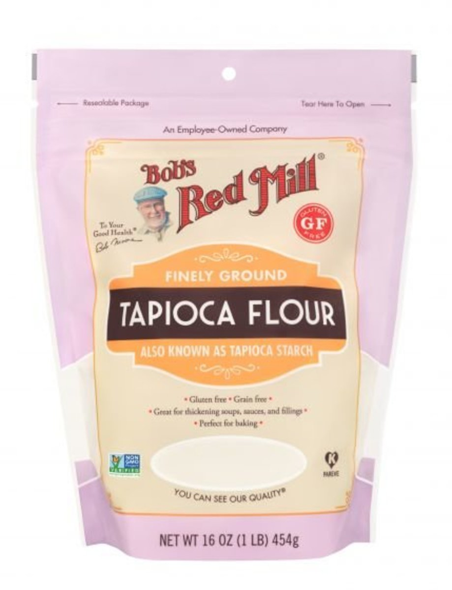 Tapioca Flour (Tapioca Starch), Gluten Free