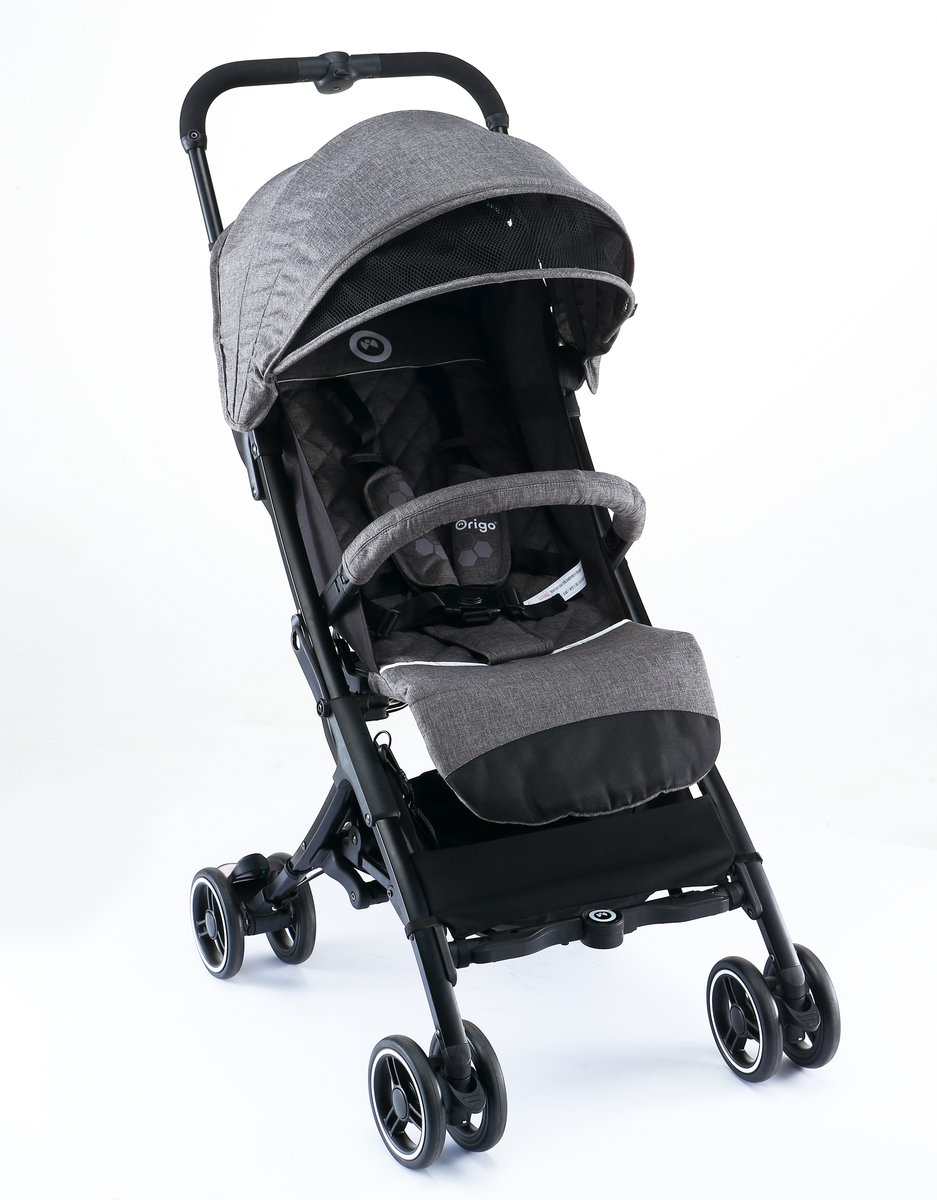 Flexii compact backpack stroller  (WAGTAIL GREY)