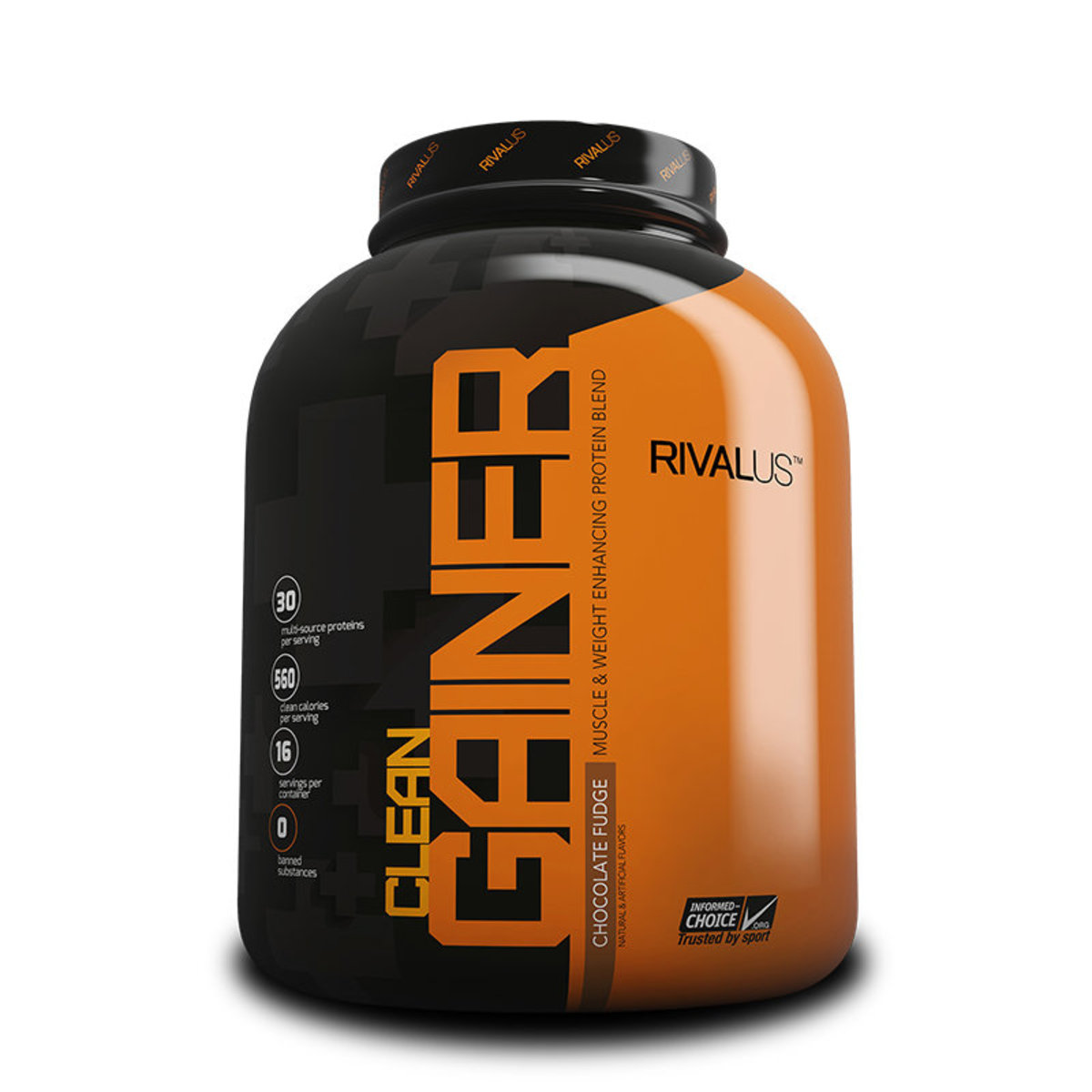 Clean Gainer 5.00LBS(Chocolate Fudge)  | Gain Weight Build Muscle | Made in USA