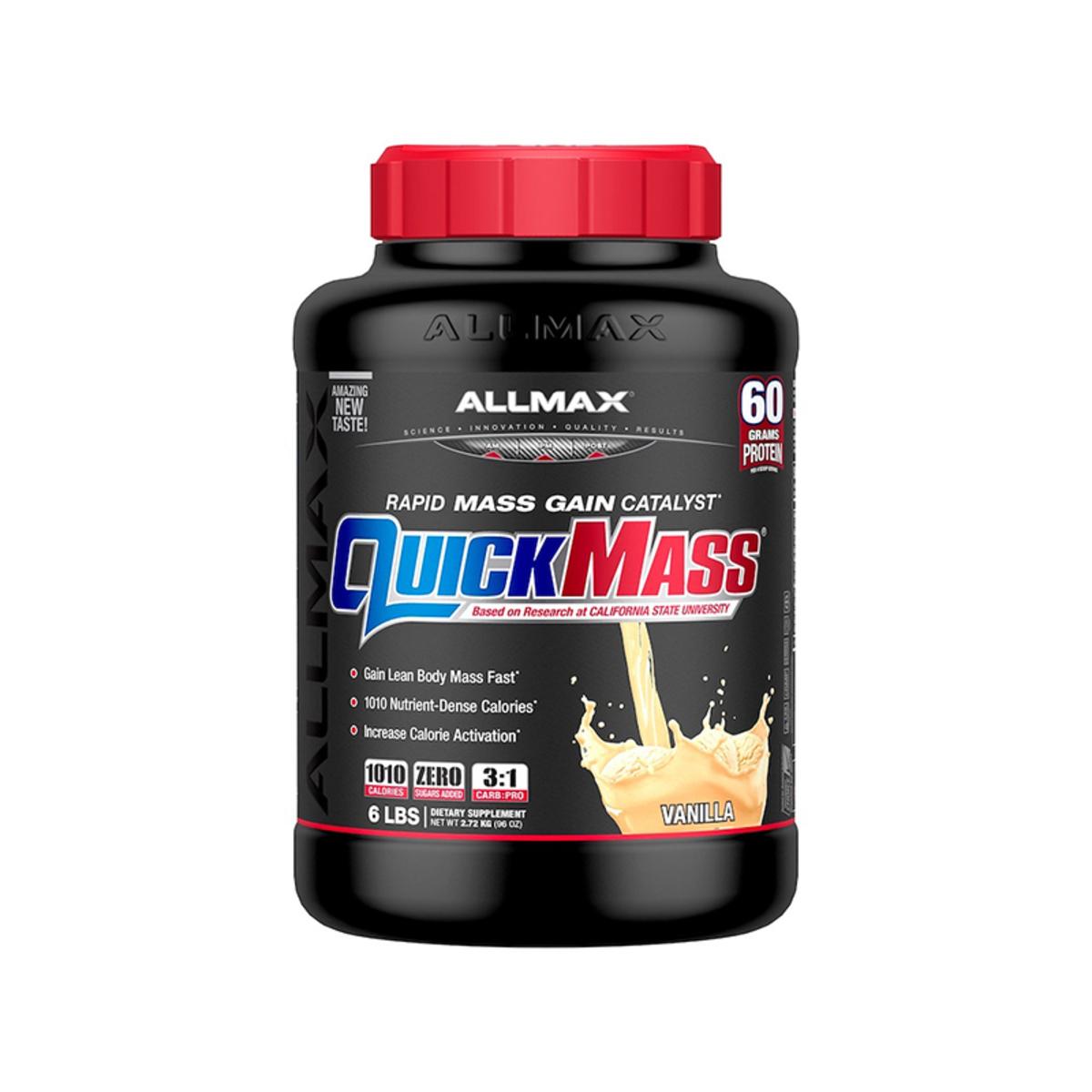 Quickmass 快速增肌粉 6磅(雲尼拿味)