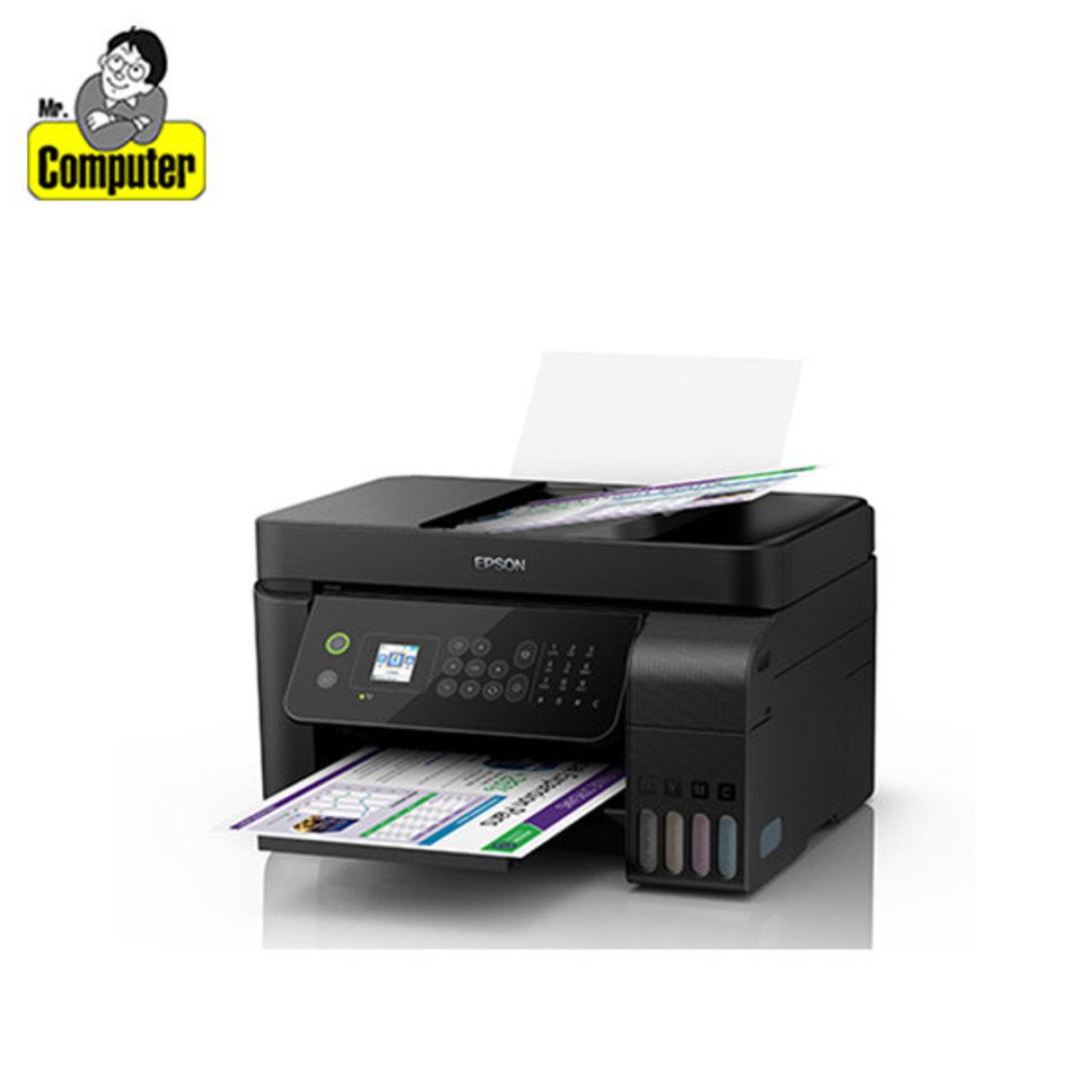 EcoTank L5190 Color Inkjet Printer with Refill Ink Tank System