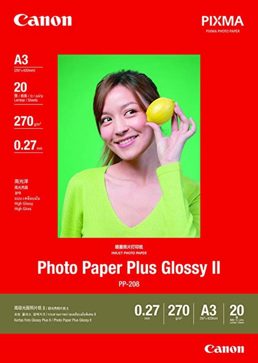 PP-208 A3 Photo Paper Plus Glossy II