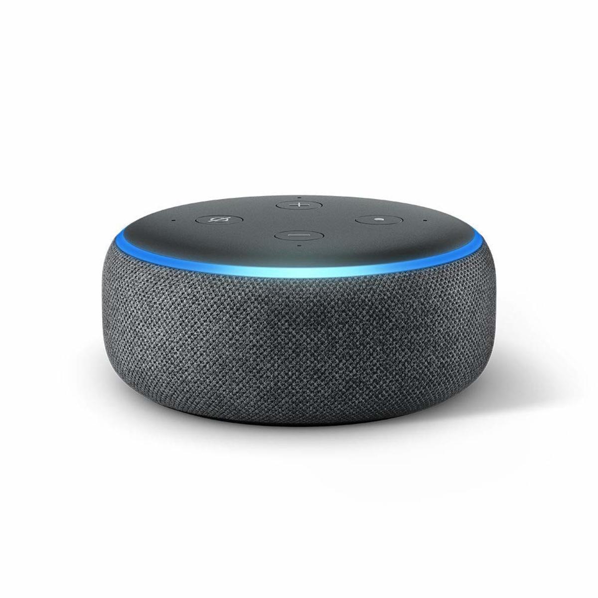 Echo Dot 3代 智能無線喇叭 (內置語音助手) 黑色 (平行進口)