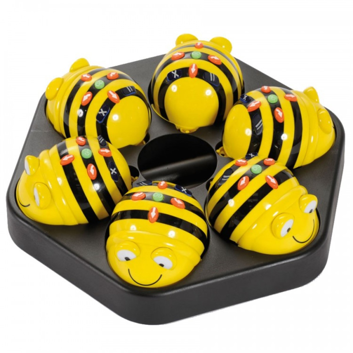 Bee-Bot® Rechargeable Floor Robot 6 Packs with Charging Station (1 year warranty)