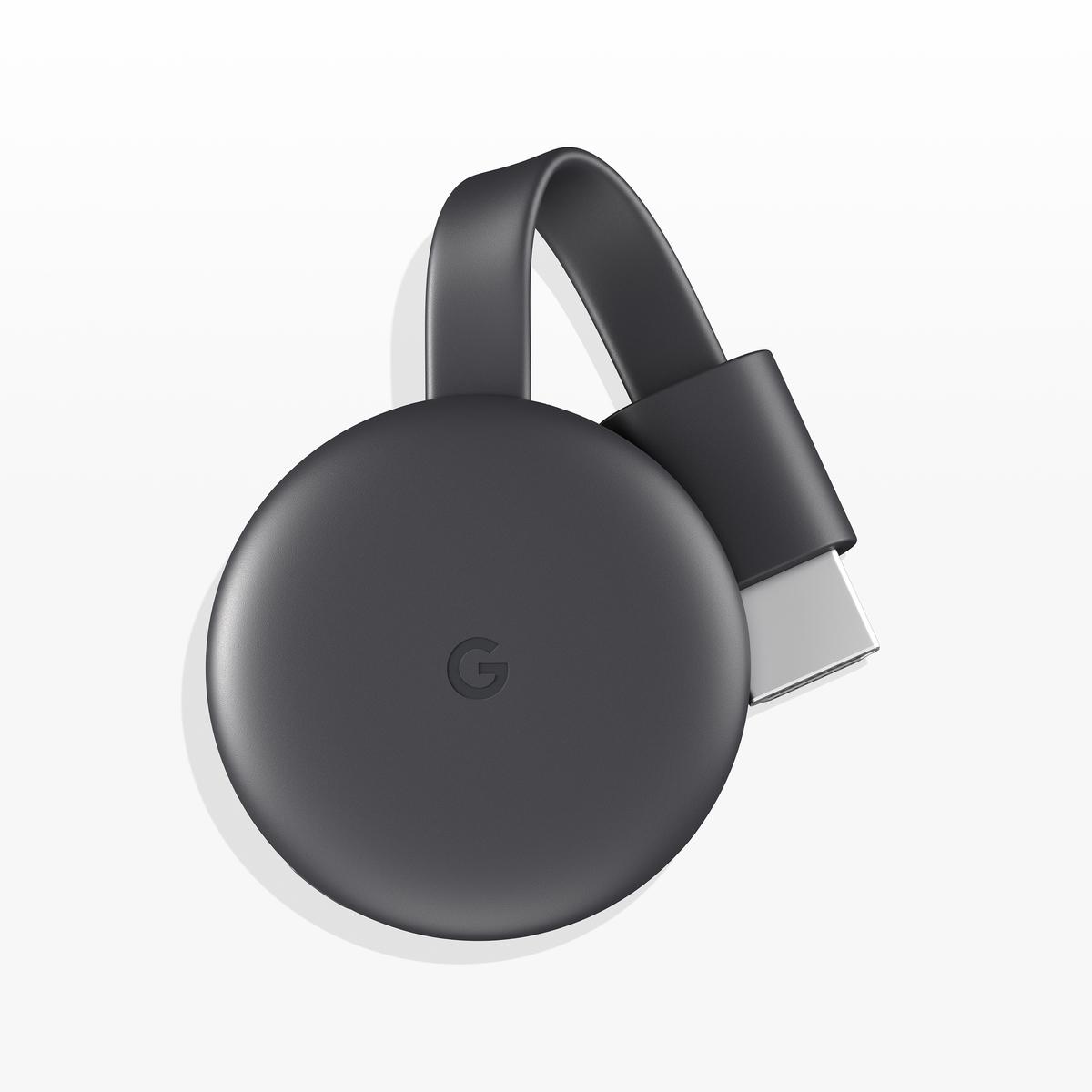 (英/香港插) Google - Chromecast 3 第三代 Screen Mirroring Dongle 黑色 (平行進口)