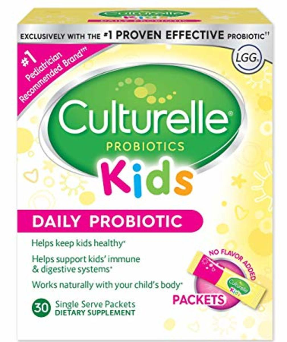 Culturelle - Kids Packets Daily Probiotic Formula - 30packets (USA Parallel Import)