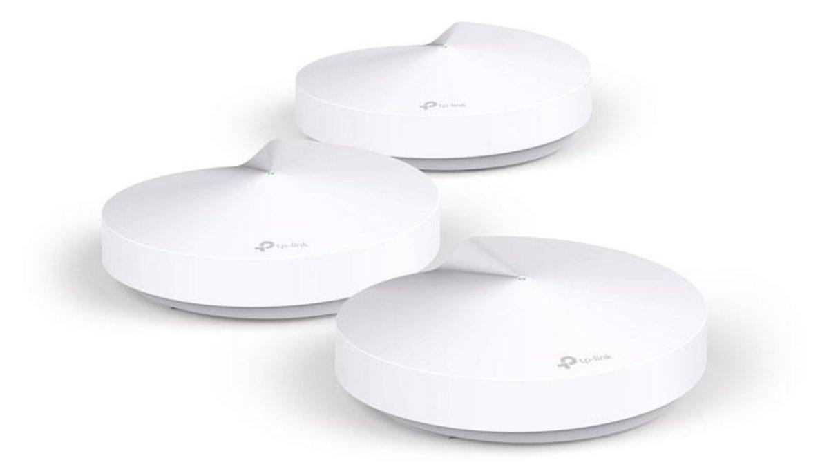 AC1300 家居Mesh Wi-Fi 零死角系統 Deco M5 (三件裝)(行貨)