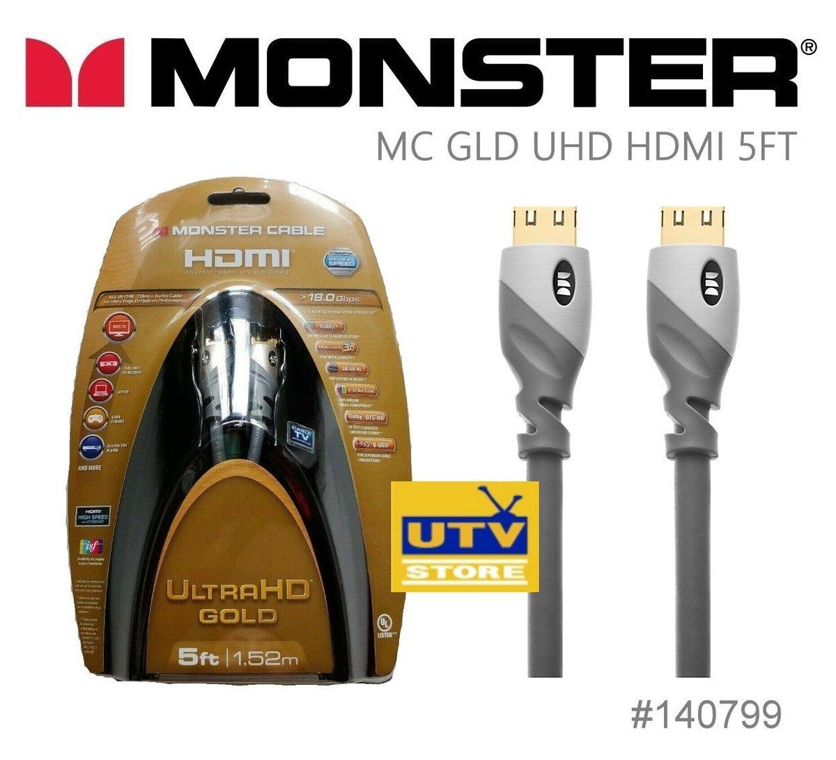 140799 UliraHD Gold HDMI Cable 1.52m / 5ft