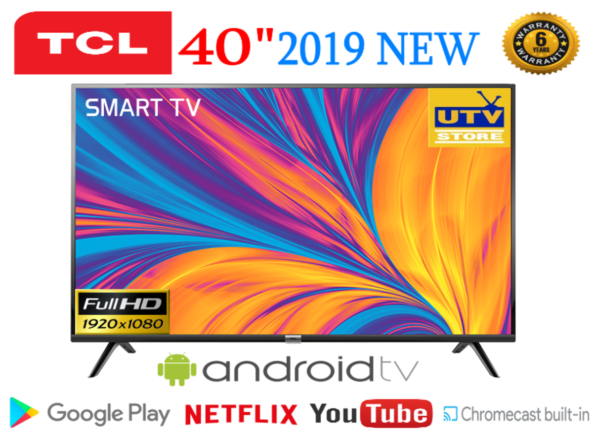 """40S6500 40"""" Google Play Android™ TV with Dolby Audio  with Dolby Audio (6 Year Warranty)"""