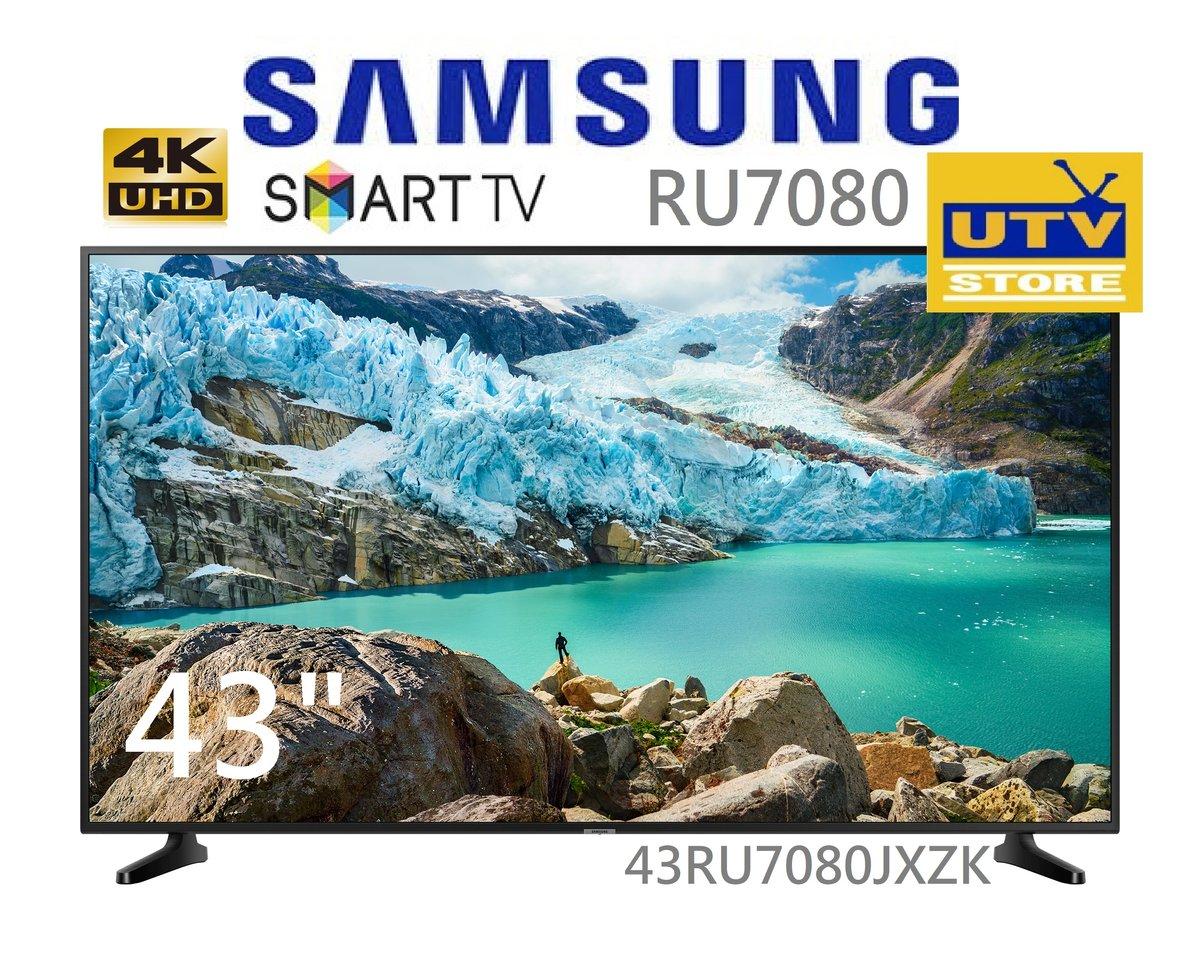 "UA43RU7080JXZK 43"" 4K UHD SMART TV (3years warranty)"