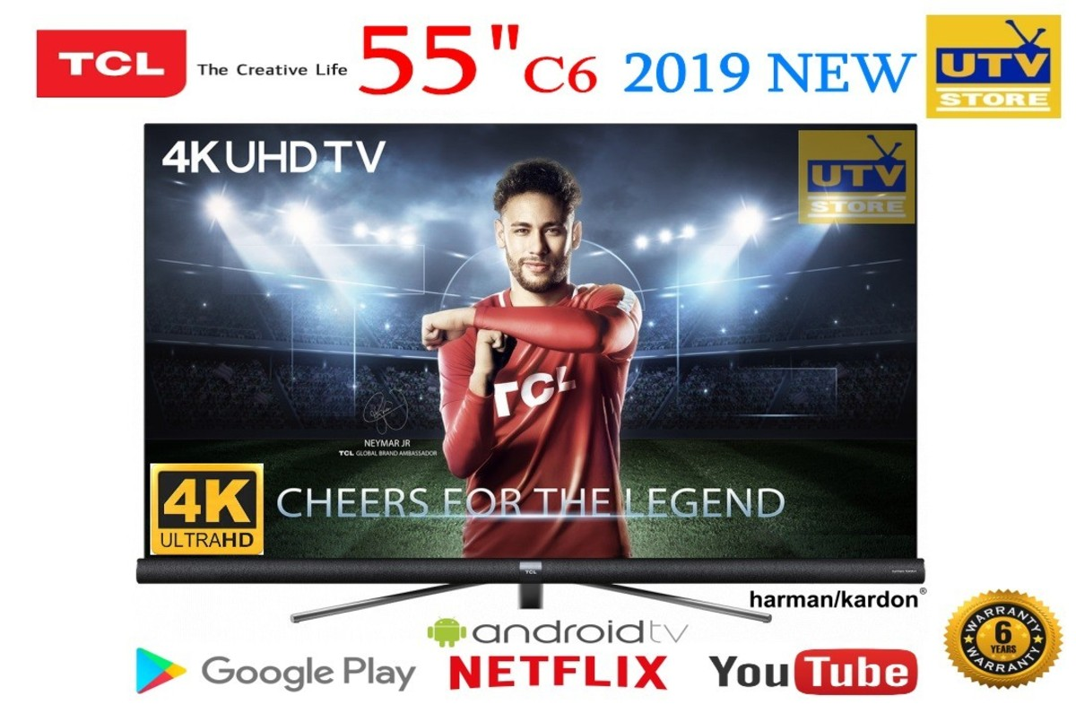 "55"" 4K HDR-PRO Android™ TV with harman/kardon™ Speake - 55C6US (6 Year Warranty)"