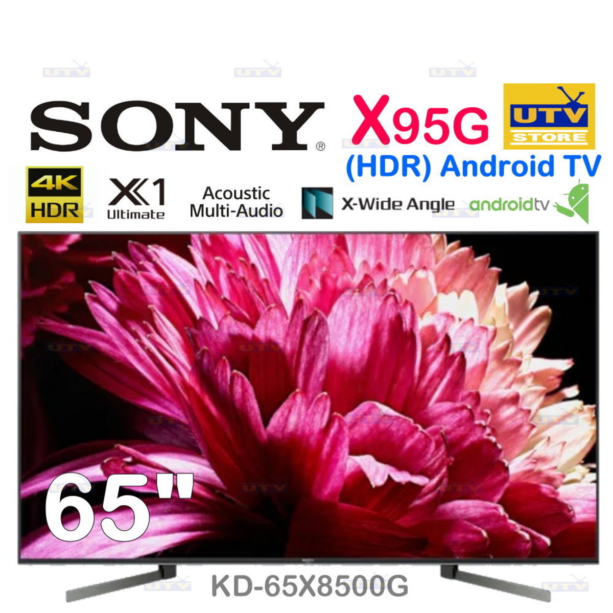 """KD-65X9500G 65"""" Series BRAVIA 4K HDR Android TV™ X9500G"""