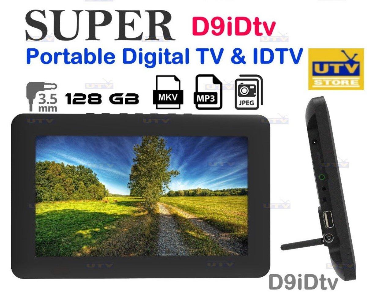 D9iDtv Portable Digital TV & IDTV