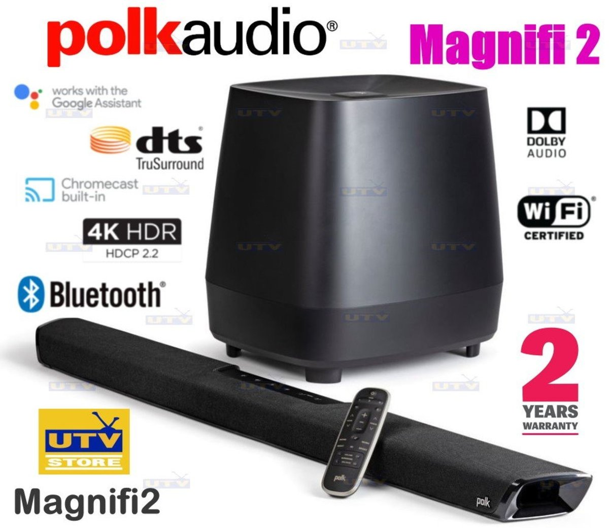 Magnifi 2 高性能條形音箱系統