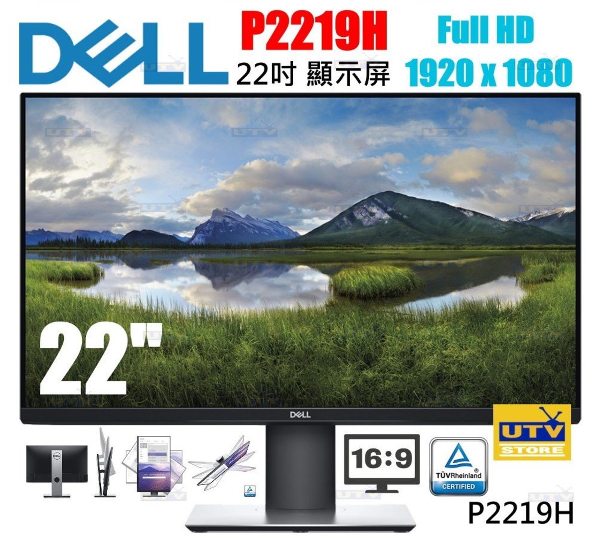 "P2219H 22"" Monitor"