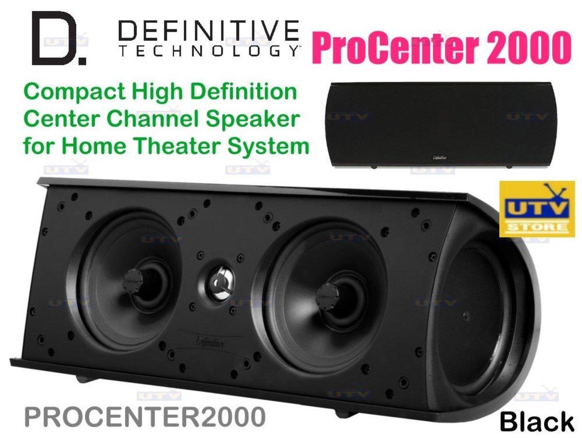 ProCenter 2000 Definitive 緊湊型高清中置聲道揚聲器