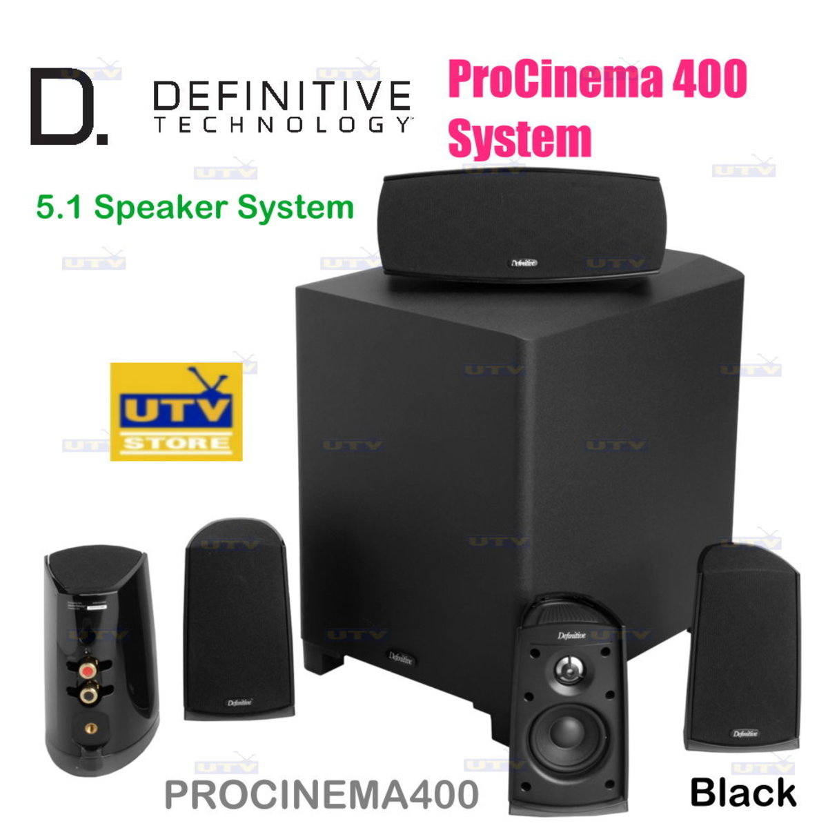 ProCinema 400 Definitive 5.1 Speaker System