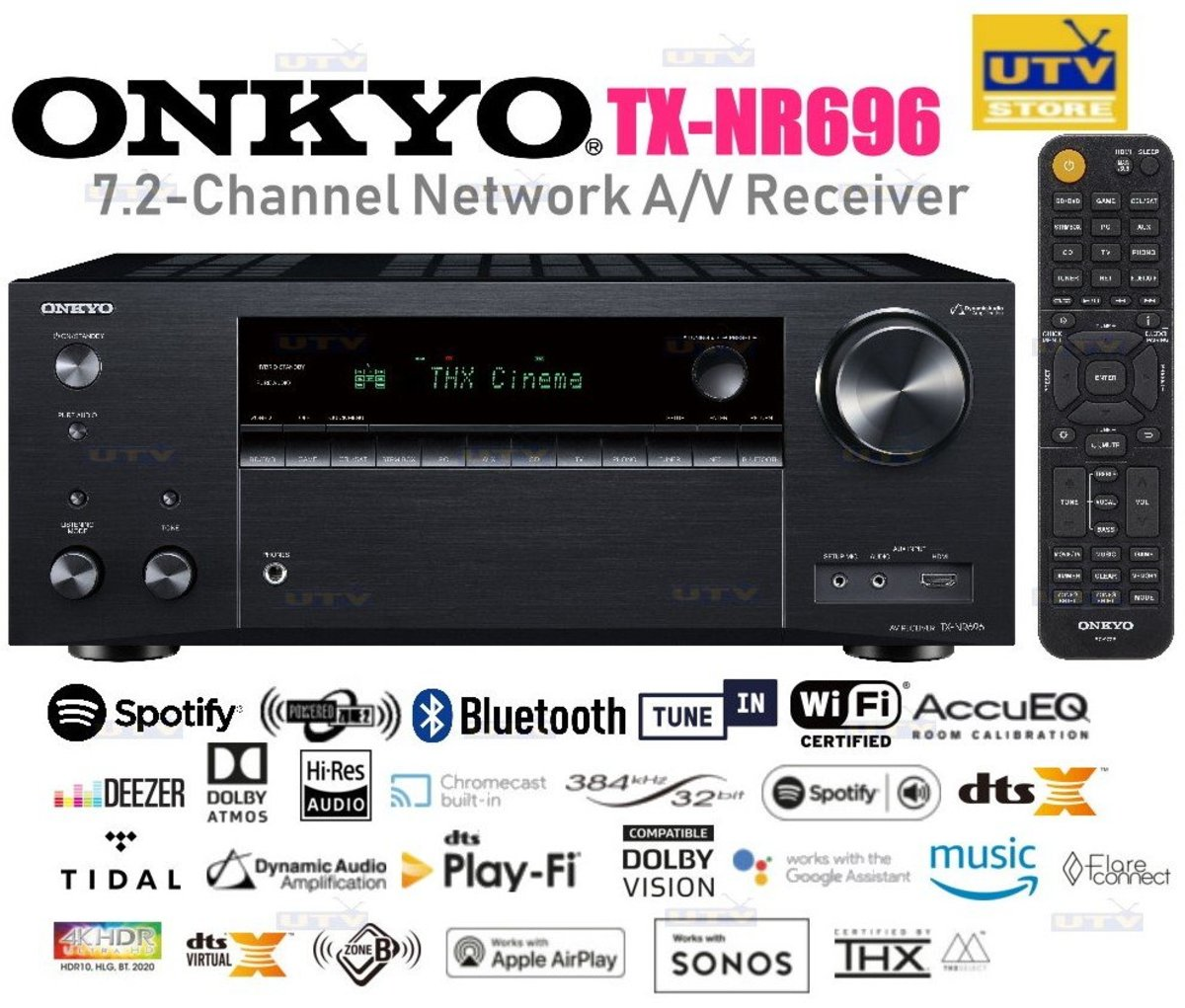 TX-NR696 AV Receiver (BLACK)