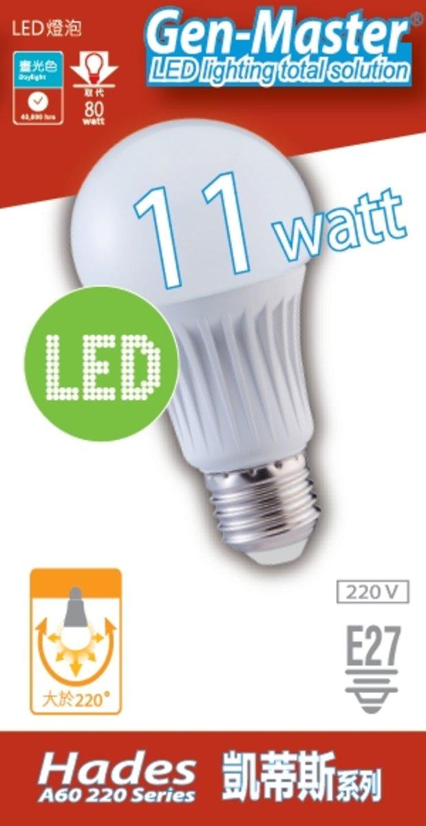 凱蒂斯 LED 燈泡 11W 冷白光 6000K 大螺頭E27
