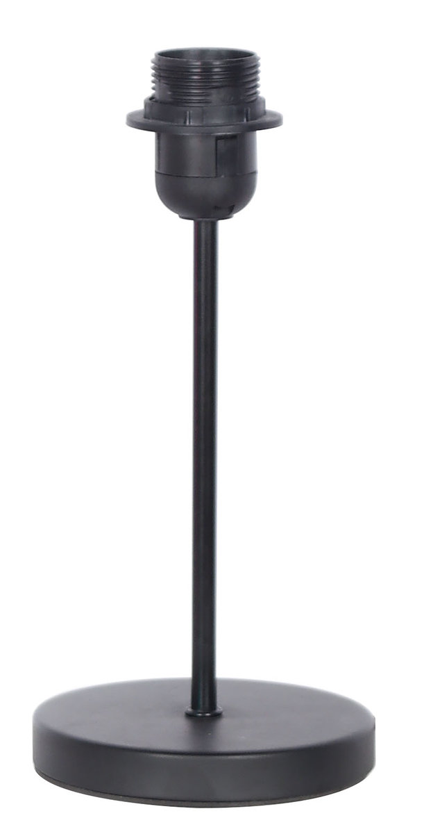 Gen-Master Desk Lamp Stand, E27, Black (Freely match light bulbs and lampshades)