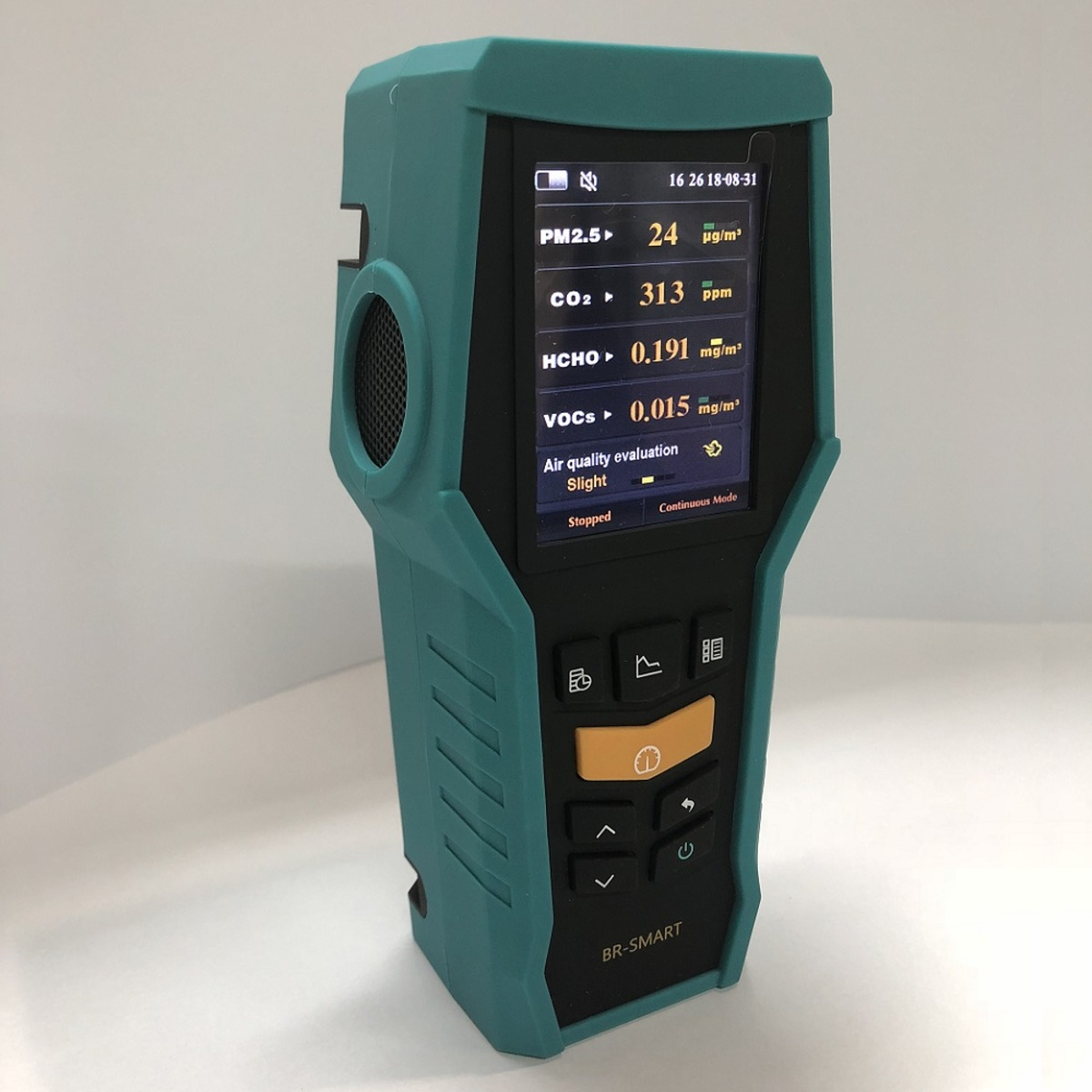 BRAMC   Smart 128 Formaldehyde Monitor Portable TVOC Dust