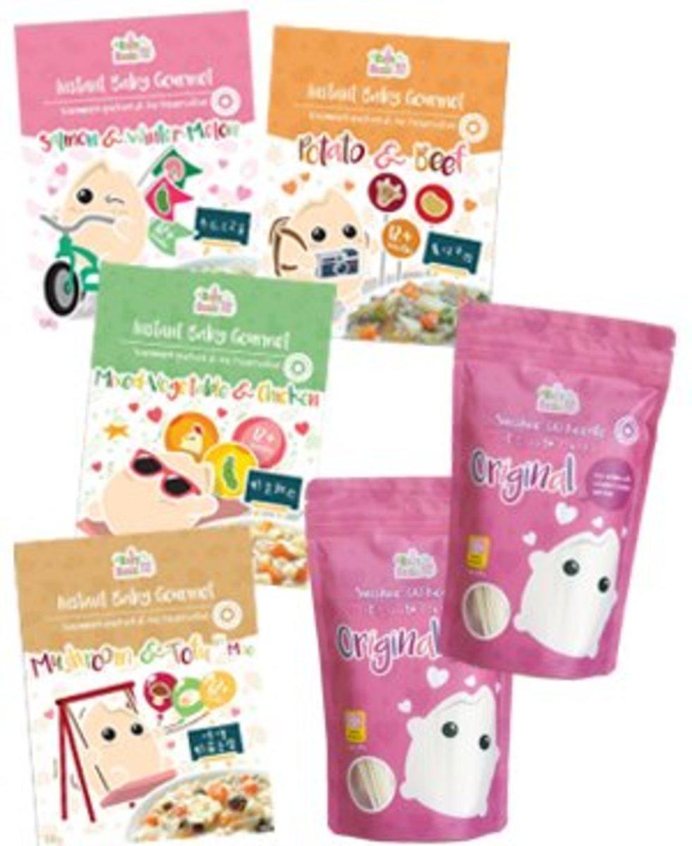 Instant Baby Gourmet x QQ Noodle Trial Set